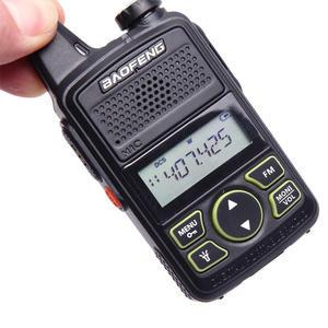 Image 3 - Gorąca sprzedaż Mini ultra cienki mini przedni BF T1 walkie talkie UHF 400 470MHz nadajnik FM dla hotelu odkryty cywilny