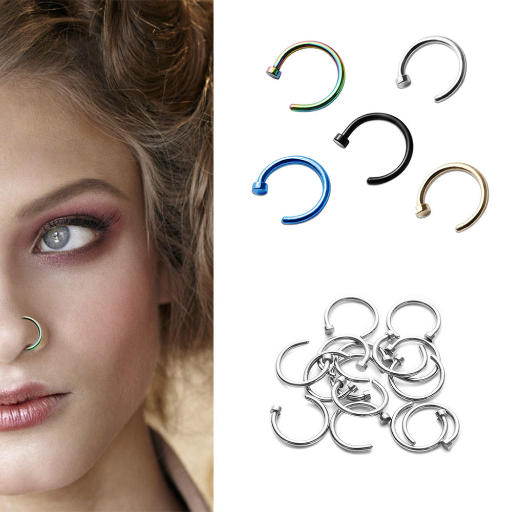 Top 8 Most Popular Jeweled Fake Septum Rings Brands And Get Free