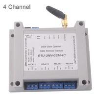 4 Channel Relay Module SMS Call Controller GSM Remote Control Switch GSM Gate Opener SIM800C STM32F103CBT6 5 12V