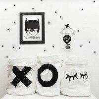 Narodziny Dziecka Śliczna Litera X O Bunny Zamknięty Eye Płótno Zabawki torby Torby Organizaed Kieszonkowe Dzieci Wystrój Pokoju Sypialni Ścienne Dla Dzieci 38*65 CM
