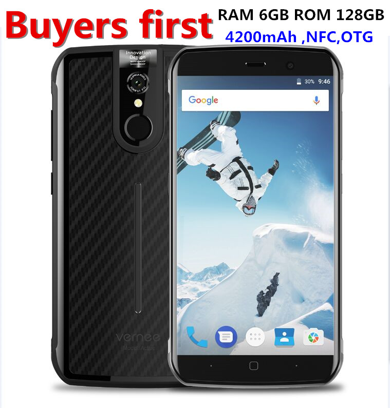 Vernee Active 5 5 FHD Smartphone 6GB RAM 128GB ROM Helio P25 Octa core 16MP Android