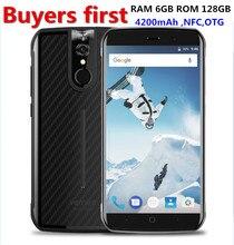 """Vernee активный 5.5 """"FHD Смартфон 6 ГБ Оперативная память 128 ГБ Встроенная память helio P25 Восьмиядерный 16mp Android 7.0 IP68 водонепроницаемый OTG NFC 4 г мобильного телефона"""