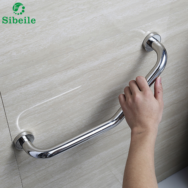 SBLE Stainless Steel Bathroom Toilet Safety Handle Helping Grab ...