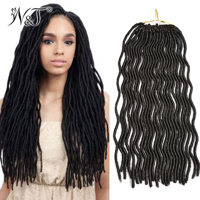 Synthetic Crochet Hair Extensions Sythetic Curly Weave Dreadlock