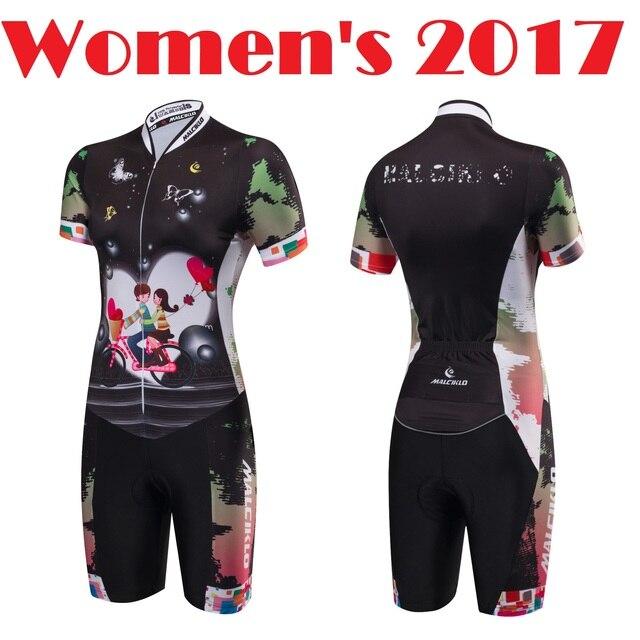 54aea83e2 Skate Sportwear 2017 Women s Skin Suit Bike Wetsuit Cycling Jersey Ice  Skating Wear Ironman Suits Free Shipping QM17LT3