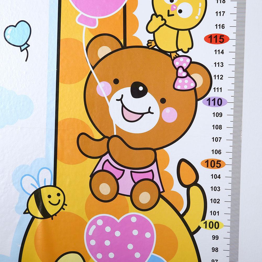 HTB1LimHd J SKJjSZPiq6z3LpXaC - Cartoon PVC Kids Height Chart Wall Sticker For kids rooms