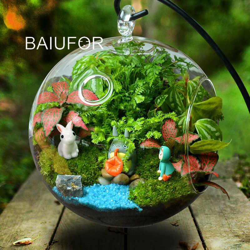 Baiufor Super Mini Animals 1 Fairy Garden Miniatures Diy Terrarium