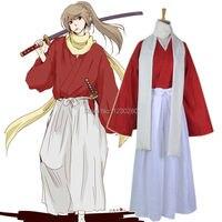 Gintama Worden Forever Yorozuya Movie Ver. Shinsengumi 1st Division Captain Okita Sougo Cosplay Kostuum 5 Jaar Na Kimono Kostuum