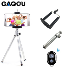 Portable Mini Tripod For iphone XS Samsung With Mobile Phone