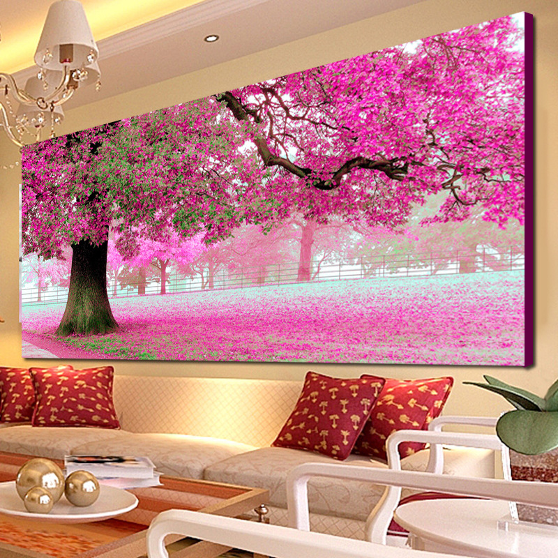 Diy Diamond Painting The Place Of First Love Full Diamond Embroidery European Style Decorated Living Room A Good Gift For Family