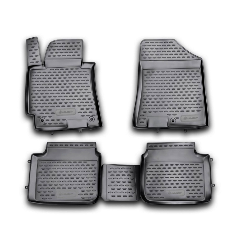 Carpet mats interior For HYUNDAI Elantra MD 2011-2015 comfort, Sport 4 PCs (polyurethane)