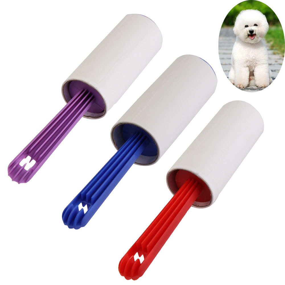 Lint Roller Sticky Picker Fluff Cleaner Carpet Dust Pet Hair Clothes Remover Washable Brush Reusable Home