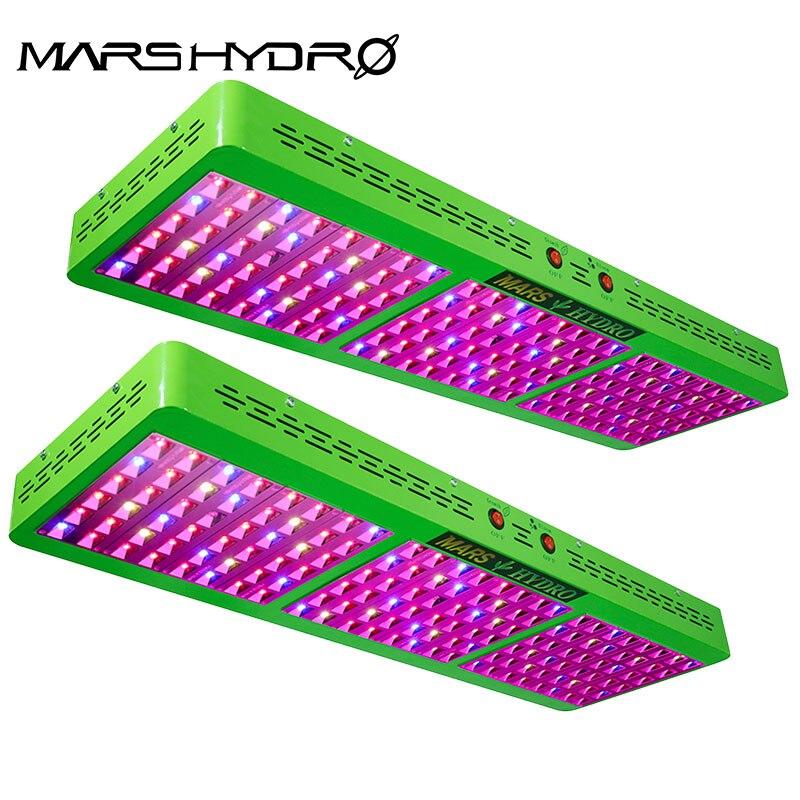 480W LED Grow Light Panel Hydro Full Spectrum Home Indoor Plant W// Reflector BP