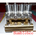 Cool! miniatura motor Stirling 'Bumblebee' Stirling engine motor generador modelo hobby Juguetes Educativos Kits