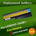 Bateria do portátil para lenovo 3000 jigu ideapad g430 g450 g530 G550 N500 Z360 B460 B550 V460 V450 G455 G555 Y430 l08s6y02