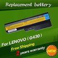 JIGU Laptop battery For Lenovo 3000 IdeaPad G430 G450 G530 G550 N500 Z360 B460 B550 V460 V450 G455 G555 Y430 l08s6y02