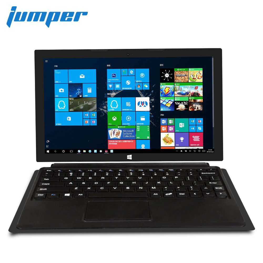 Jumper EZpad 7S tablet 10.8″ 1080P IPS 2 in 1 tablets Windows 10 Intel Cherry Trail Z8350 4GB 64GB eMMC HDMI tablet pc laptop