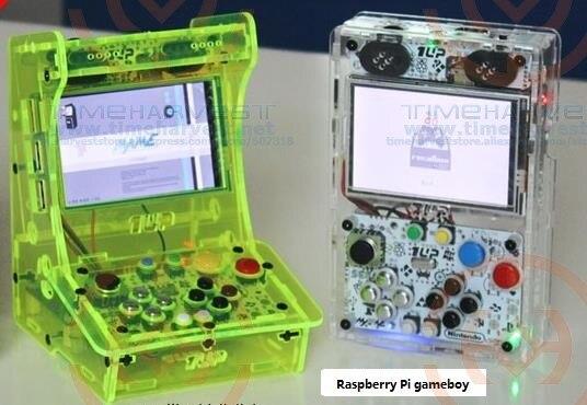 Poche mini jeu d'arcade 3.5 pouces HD IPS LCD Raspberry Pi 3 + 32G système de Recalbox de carte il faut réserver et disponible en 20 jours