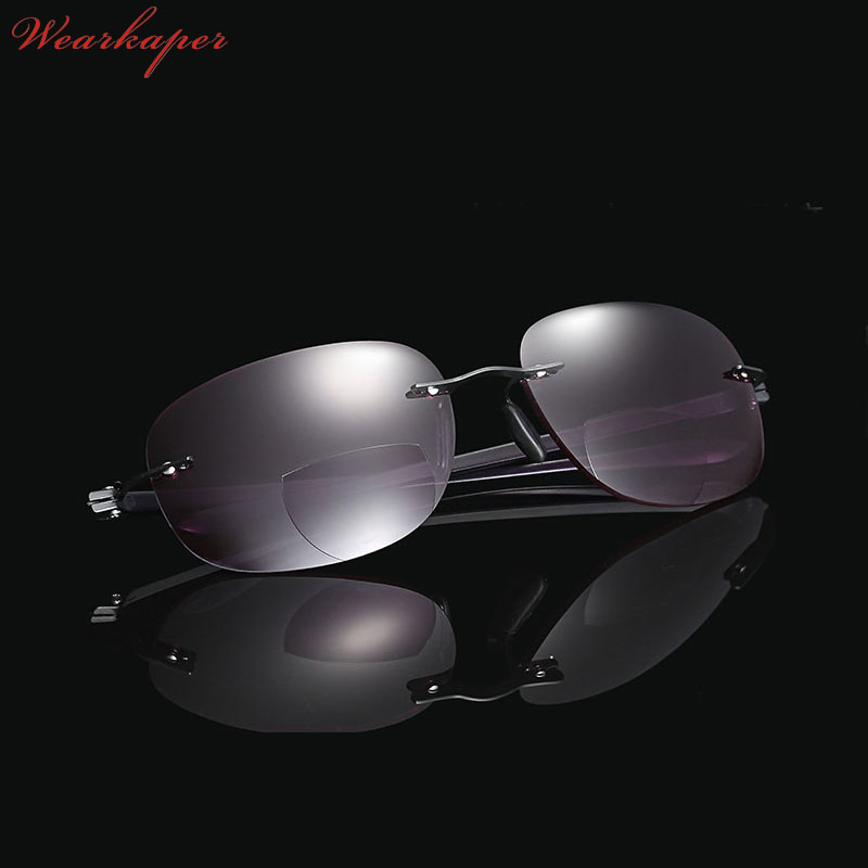 a70d97f26ec WEARKAPER Frameless Titanium Bifocal reading glasses Outdoor fishing.  Details. 4664654. 655677. 56454745. 44554 6767 987897879.  4690518613 1655419262