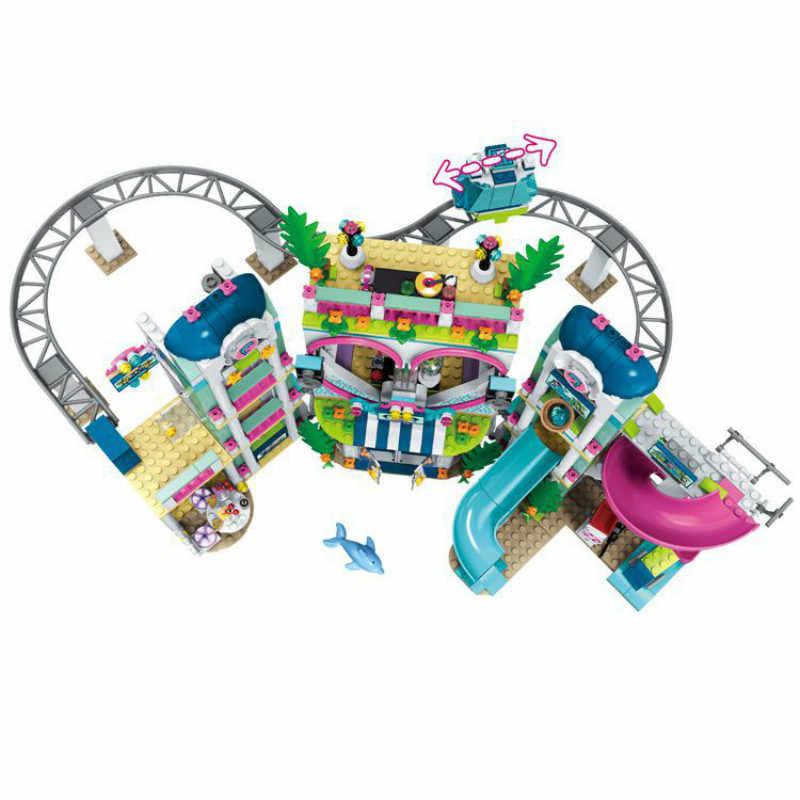 Nieuwe Vrienden De Heartlake Stad Resort Compatibel Vrienden Bouwsteen Baksteen Speelgoed Meisje Kinderen Kerstcadeaus 41347
