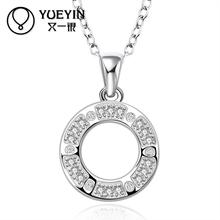 YUEYIN Necklaces & Pendants 925 Sterling Silver Pendant Collares Fine Jewelry Necklace Men Collares Mujer Horse Colar Masculino(China (Mainland))