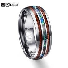 Полировка под дерево, мужские кольца, средний размер, вольфрам, карбид, обручальные кольца, много размеров, Anillos para hombres Pierscienie