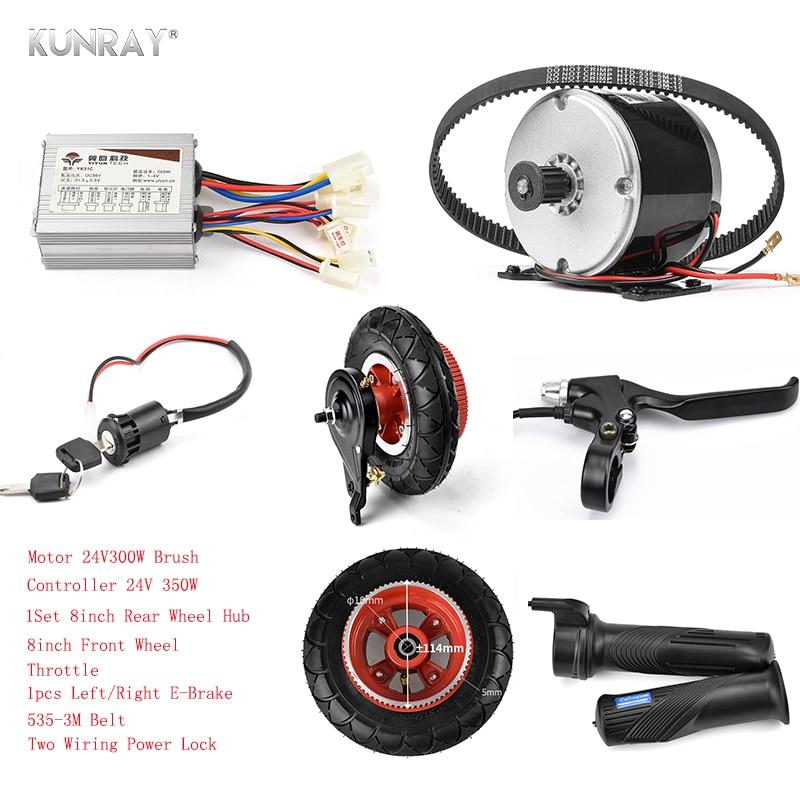 brushed motor controller electric conversion system electric bike 24V 350W