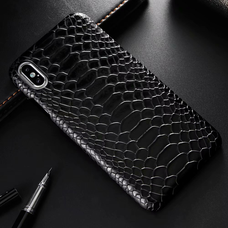 snake pu leather case (19)