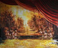Mysterious Forest Backdrop, 10ft x 10ft Hand Painted Photography BackgroundMysterious Forest Backdrop, 10ft x 10ft Hand Painted Photography Background