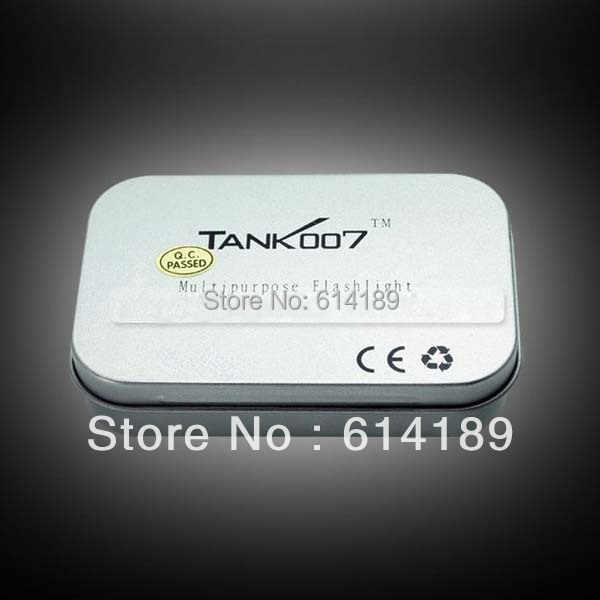 Mini długopis ze światłem LED TANK007 E10 CREE XP-E R3 120LM 3-tryb LED czapka latarka dla lekarza z piórem klip (1x10440/1 x AAA)