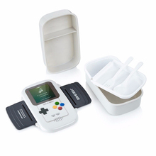 1410 ml caja del juego 3 viajes lunch box bento box watertight sellado de contenedores de plástico para alimentos con cuchara tenedor microondas