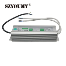 SZYOUMY LED Waterproof Power Supply 12V 10A 120W OutDoor LED Waterproof Light Electronic Transformer Power Supply Driver