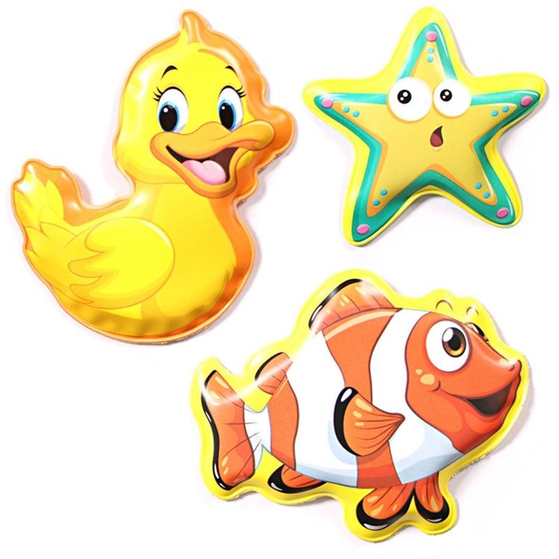 New Swimming Water Bath Book Animal Bath Mini Cartoon Toys For Baby Happy Bathing Time Early Educational  Bathroom Toy