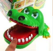Large Fun Toys Crocodile Dentist Bite Finger Game Funny Crocodile Toy for Kids Gift