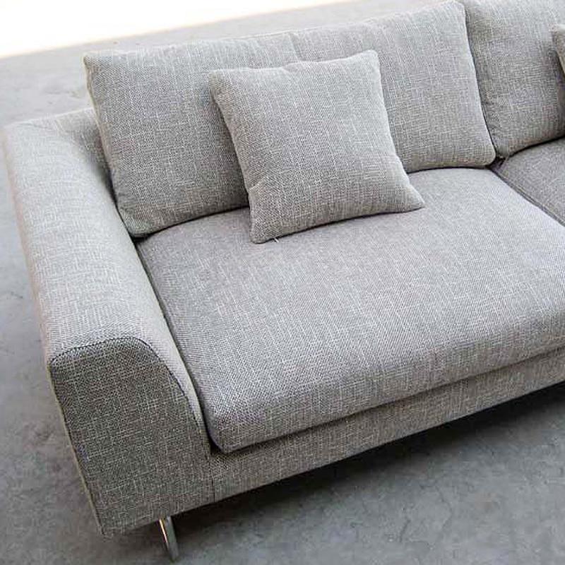 Milan fashion home living room big house down sofa Scandinavian ...