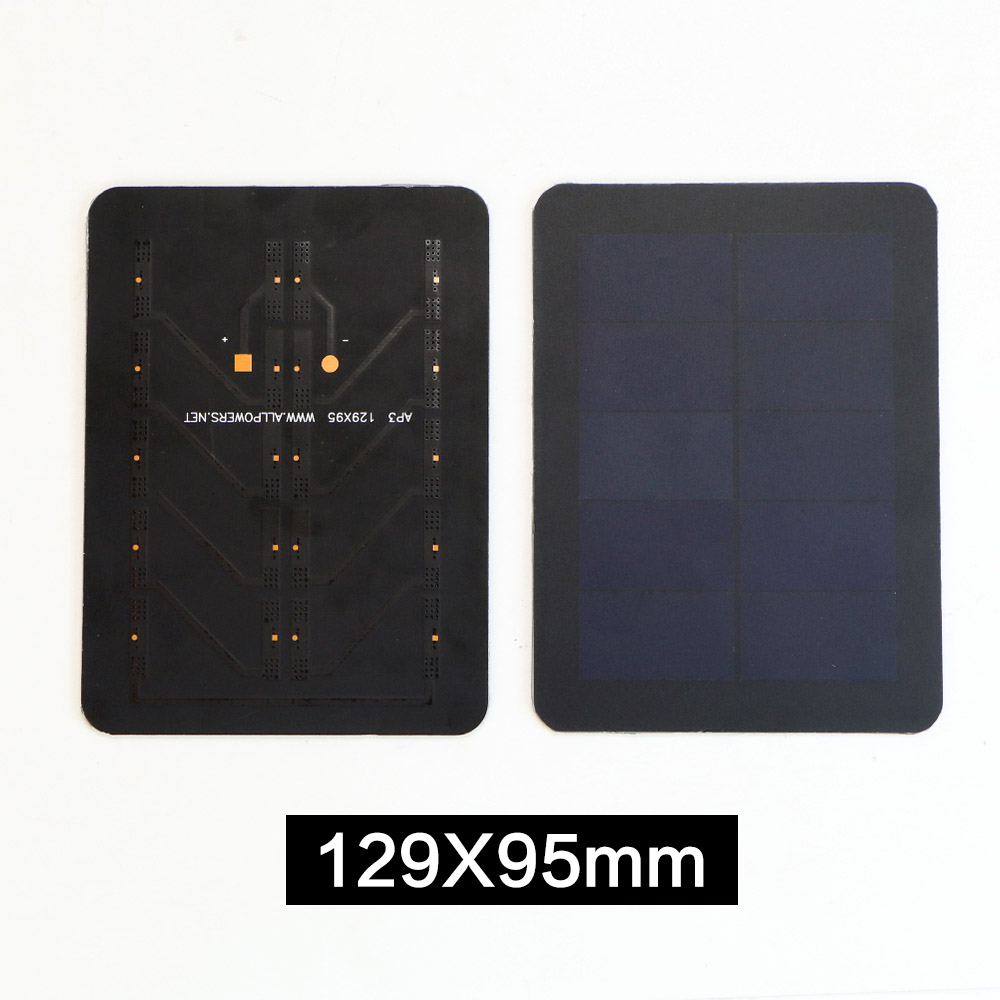 High Efficiency Portable Solar Cell 5V Sunpower Solar Panel for DIY Solar Charger.