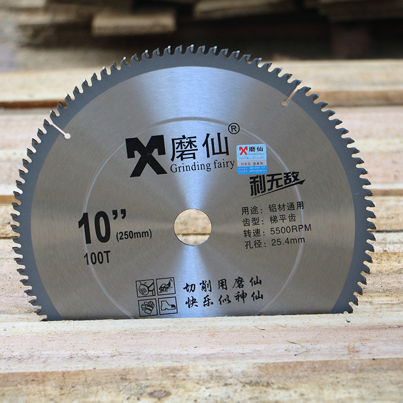 цена на Electric circular saw 10 inch saw blade hard alloy circular 250MM wood material cutting sheet tungsten steel cutting machine saw