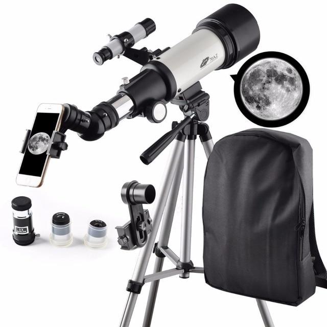 montage telescope