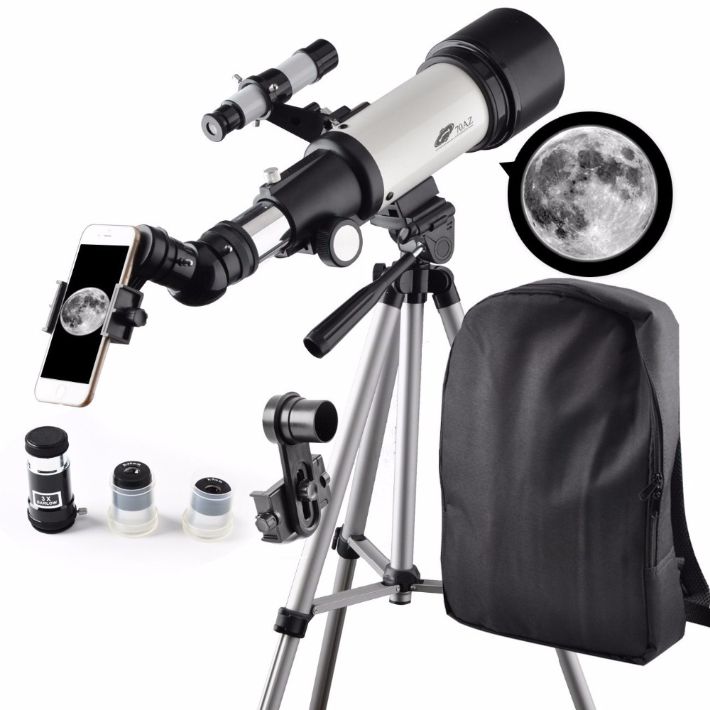 70mm Apeture 400mm Az Mount Telescope Good Partner to View ...