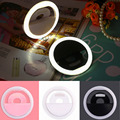 Portable Rechargable Selfie Fill Light Led Camera Photography Ring Light for Smartphone As a Gift