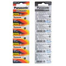100pcs/lot Panasonic SR626SW Silver Oxide Battery G4 377A 377 LR626 SR626SW SR66 LR66 Button Cell Watch Coin Batteries