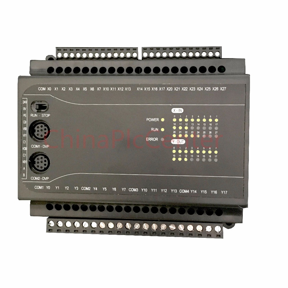 FX1N EX1N 40MRcontroller 24 input 16 output 2AD 2DA RS485 modbus RTU plc controller automation controls plc system fx1n fx2n fx3u 40mt 24di 16do 2ad 2da analog for plc rs485 modbus 4 axis high speed pulse 100khz output stepper motor