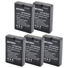 5Pcs EN-EL14 EN-EL14a ENEL14 EL14 1200mAh Batterij voor Nikon P7800, P7700, P7100, P7000, d5500, D5300, D5200, D3200, D3300, D5100, D3100, Df