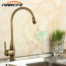 Kitchen Faucets Mixer Taps Antique Brass Finished Hot and Cold Deck Mounted with ceramic torneiras para banheiro crane XT902