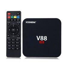 SCISHION V88 4 K Android 6.0 Smart TV Box 1 GB 8 GB Rockchip RK3229 Quad Core Kodi wifi HDMI IPTV Smart Media lecteur