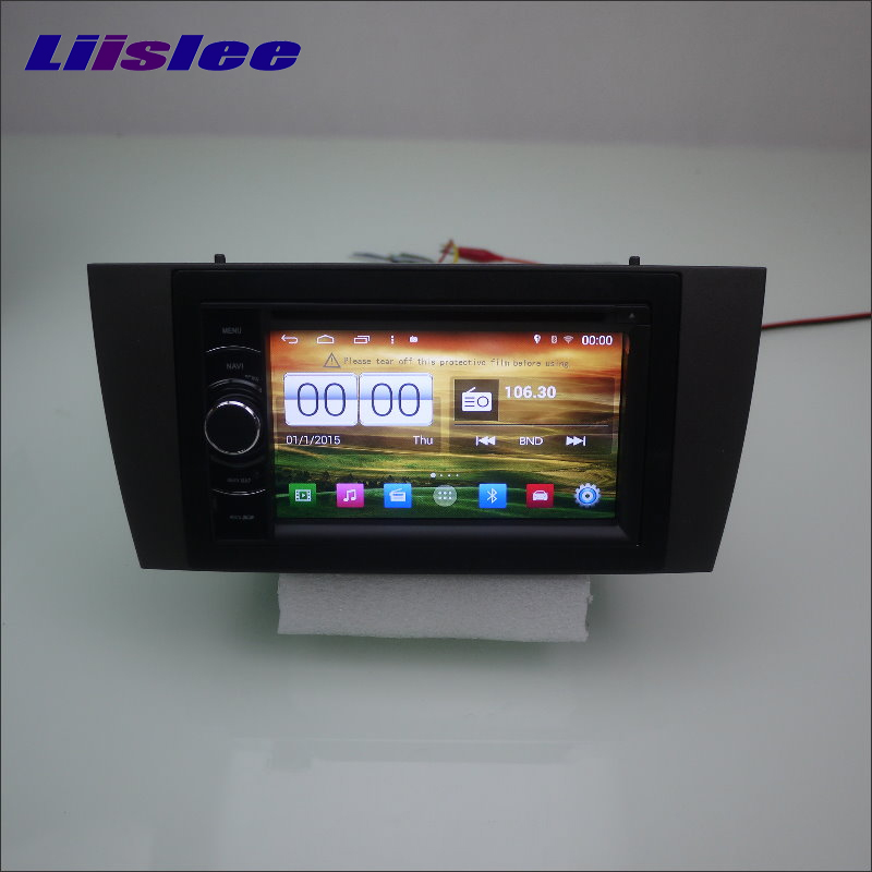 Liislee For JAGUAR S X Type 2001~2009 Car Radio Reo CD DVD Player GPS NAVI HD Touch Audio Video S160 Nav Map Navigation System