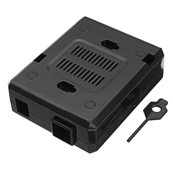 Black ABS Plastic Enclosure Protective Case For Arduino UNO R3 Board Compatible USB Short Current Protection DIY Kit