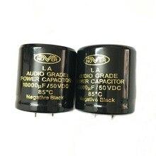 все цены на One Pair Original 10000UF 50V 30x45mm DIY Audio Capacitor 85 Degrees Grade Power Cap онлайн