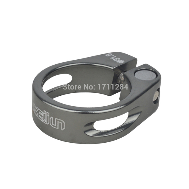 MEIJUN 31.8mm pince de tige de selle en alliage daluminium pour vélos de montagne vélos pliants pour 27.2mm 28.6mm pièces de tige de selle