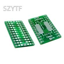 10 шт./пакет SOP24 SSOP24 плата адаптера DIP 1,0 мм шаг переключатель SMD DIP адаптер пластина